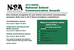 2015 NSPRA National School Communication Awards