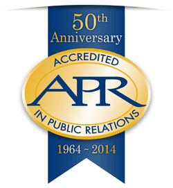 APR 50th Anniversary logo