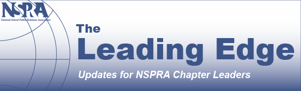 NSPRA The Leading Edge Updates for NSPRA Chapter Leaders banner