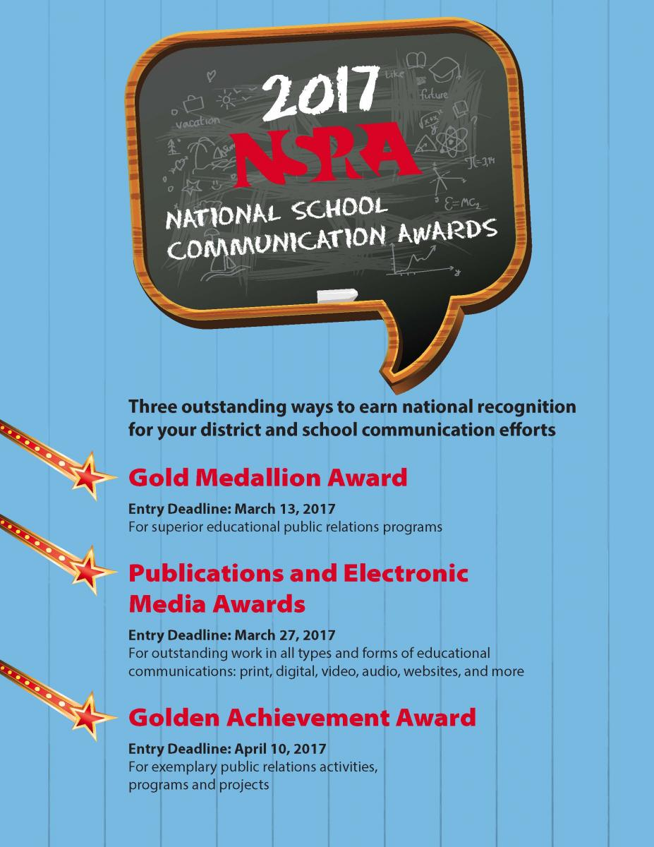 2016 NSPRA Publications and Electronic Media Awards