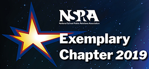 NSPRA Exemplary Chapter 2019 logo with star in a starry sky