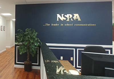 NSPRA office reception area
