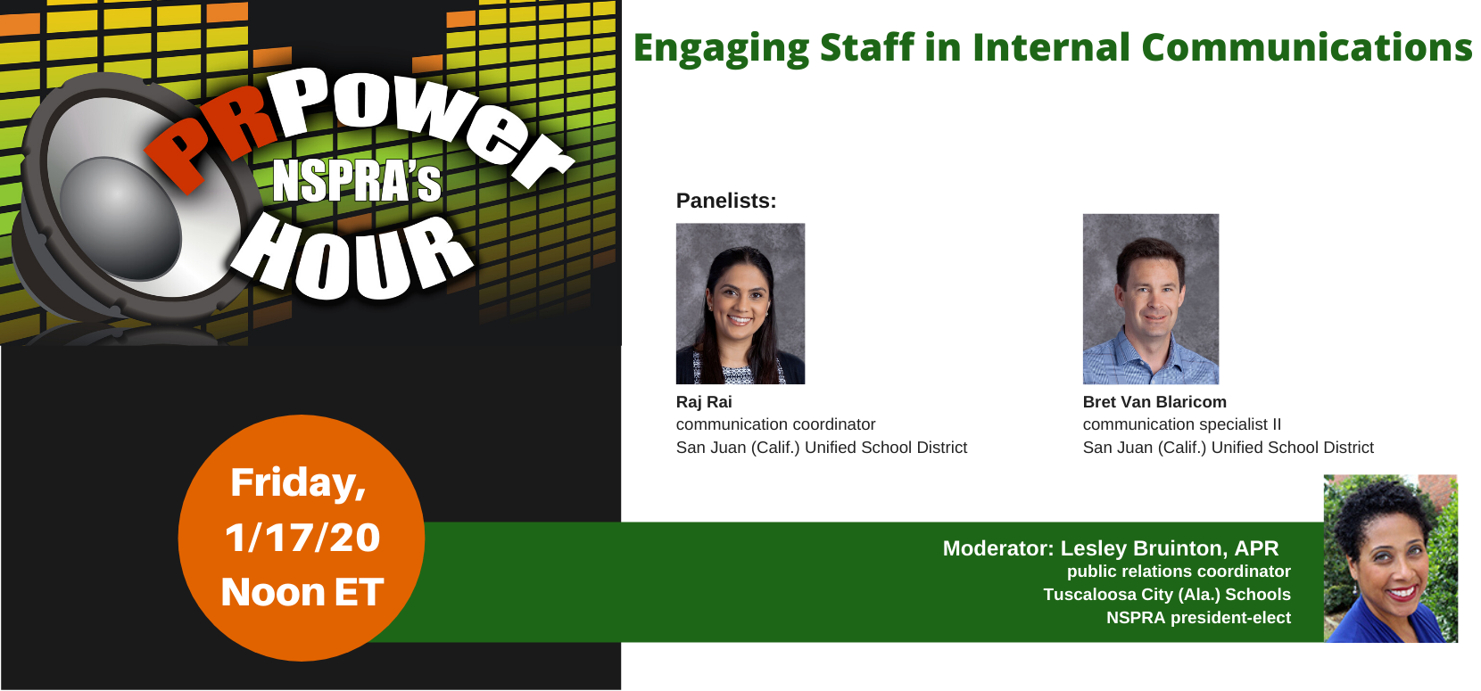 January PR Power Hour: Engaging Staff in Internal Communications
