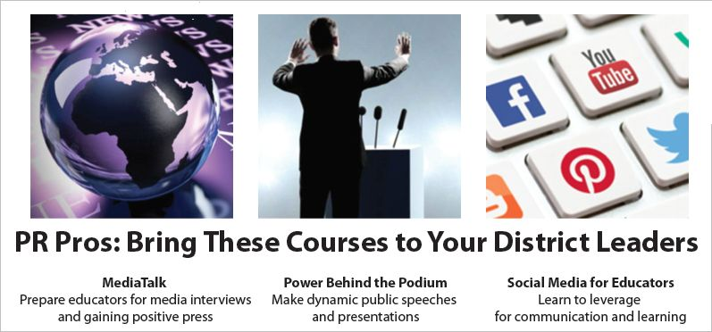 Communicating Education -- Online Media Training
