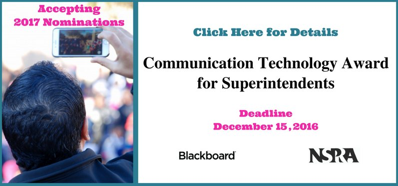 Communication Technology Award for Superintendents