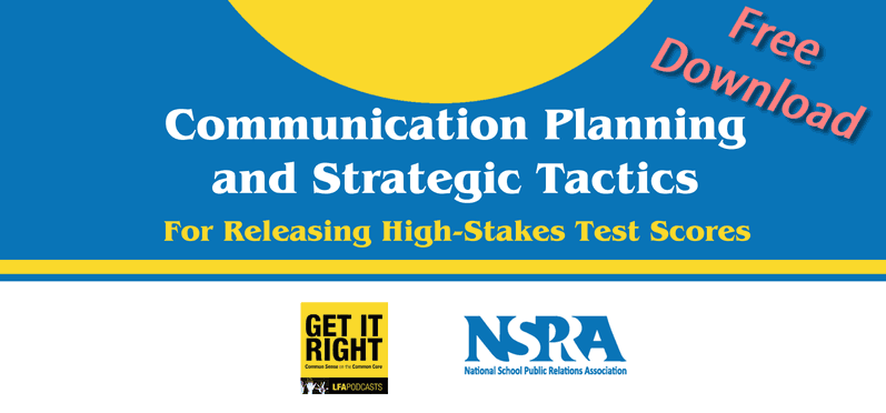 Communication Planning and Strategic Tactics for Releasing High-Stakes Test Scores
